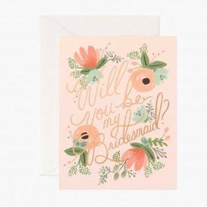 Rifle Paper Co.  Blushing Bridesmaid Card